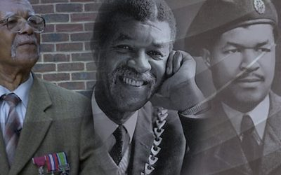 REMEMBERING SAM KING MBE