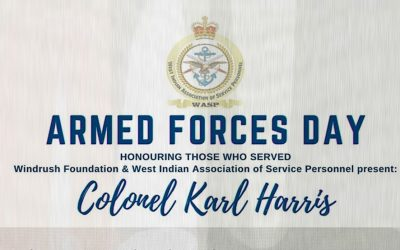 Armed Forces Day: Honouring Colonel Karl Harris